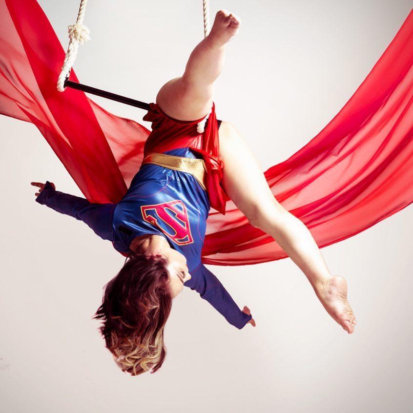 trapeze supergirl