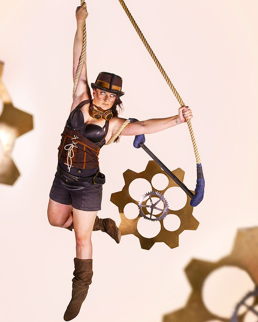 cate moore steampunk trapeze
