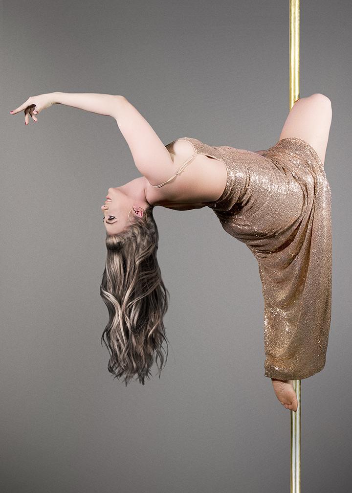 Jen Sequins Pole